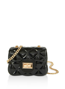 Quilted Jelly Mini Crossbody Bag - 1124061591200