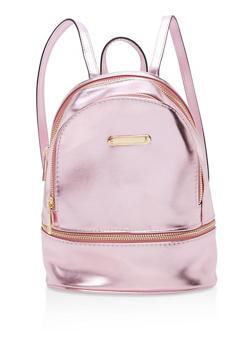 Small Triple Zip Backpack - 1124061595026