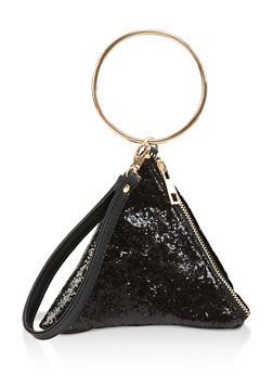 Glitter Pyramid Wristlet - 1124061595600