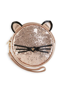 Sequin Cat Wristlet - 1124061596300
