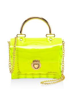 Studded Neon Mini Crossbody Bag - 1124061596810