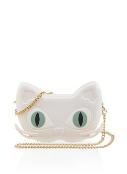 Cat Jelly Crossbody Bag - 1124061597220