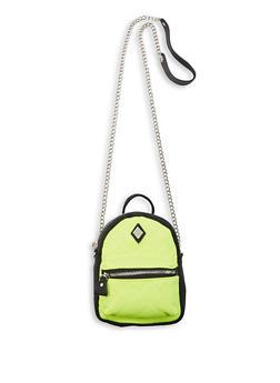 Mini Backpack Crossbody Bag - 1124061597550
