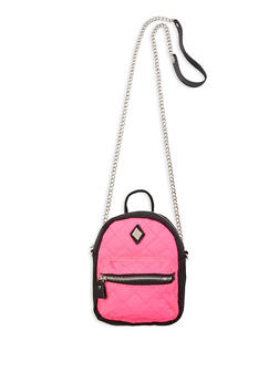 Mini Backpack Crossbody Bag - 1124061597550