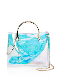 d46a91132c Small Iridescent Tote - 1124067440001