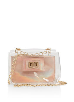 Small Clear Crossbody Bag - 1124067443008