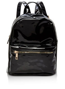 Small Double Zip Backpack - 1124067447005