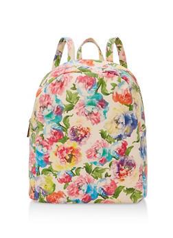 Floral Backpack - 1124067448001