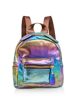 Mini Iridescent Backpack - 1124067448068