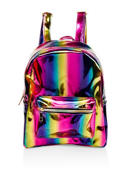 Iridescent Rainbow Backpack - 1124067448082