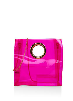 Clear Neon Tote Bag - 1124067449000