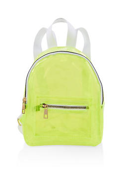 Small Neon Backpack - LIME - 1124067449090