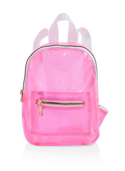 Small Neon Backpack - PINK - 1124067449090