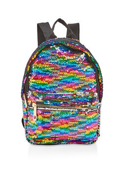 Small Reversible Sequin Backpack - 1124073401855
