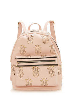 Laser Cut Pineapple Backpack - 1124073407233