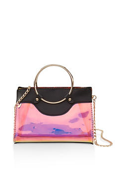 Iridescent Crossbody Handbag - 1124073896277