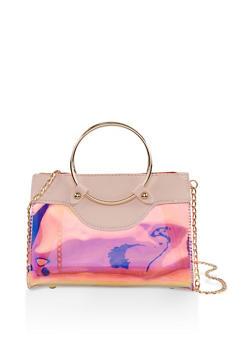 Iridescent Crossbody Handbag - 1124073896277