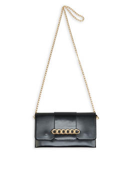 Chain Detail Crossbody Bag - 1124073896571