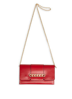 Chain Detail Crossbody Bag - 1124073896571