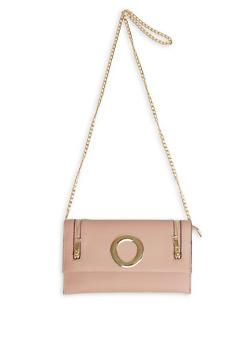 Zipper Detail Crossbody Bag - 1124073896642
