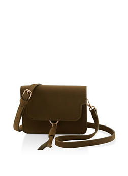 Small Tassel Crossbody Bag - 1124073896722