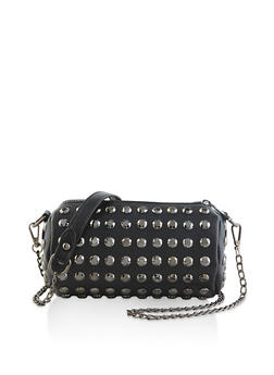 Round Studded Crossbody Bag - 1124073896730