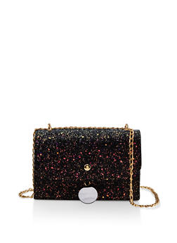 Chunky Glitter Chain Crossbody Bag - 1124073896859