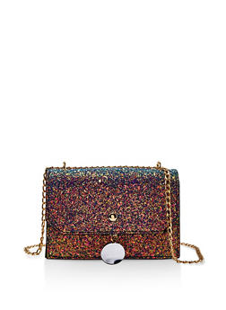 Chunky Glitter Chain Crossbody Bag - 1124073896859