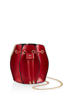 Accordion Bucket Bag - 1124073896895