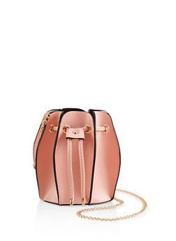 Accordion Bucket Bag - 1124073896895