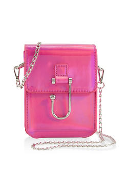 Hook Buckle Crossbody Bag - 1124073896919