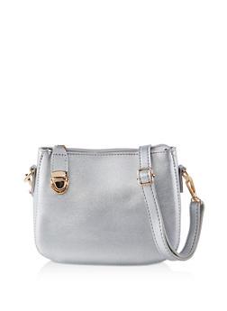 Top Zip Crossbody Bag - 1124073897048