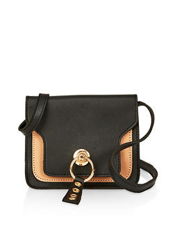 Two Tone Crossbody Bag - 1124073897118