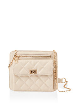 Small Quilted Crossbody Bag - 1124074390000