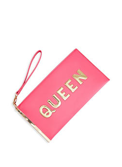 Queen 3D Graphic Wristlet - 1124074391800