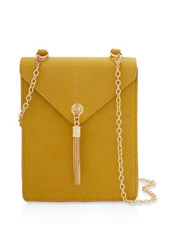 Textured Envelope Crossbody Bag - 1124074391990