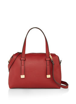 Small Faux Leather Handbag - 1124074392004