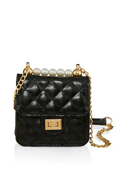 Mini Quilted Crossbody Bag - 1124074392013