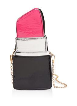 Lipstick Crossbody Bag - 1124074392354