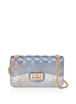 Ombre Jelly Crossbody Bag - 1124074392550