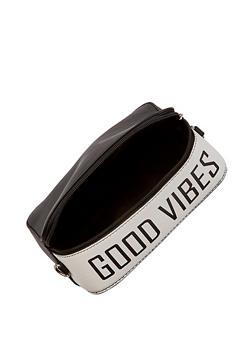 Good Vibes Square Crossbody Bag - 1124074399253