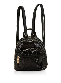 Mini Sequin Backpack - 1124074399302