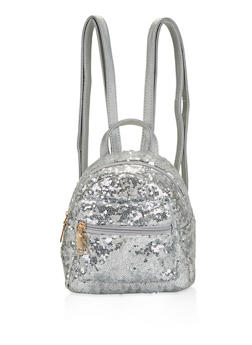 Mini Sequin Backpack - 1124074399302