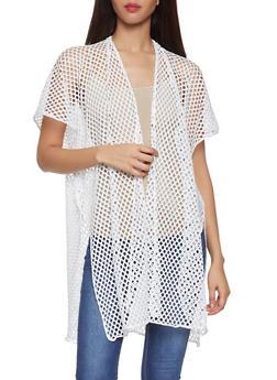 Fishnet Kimono - 1125067448081