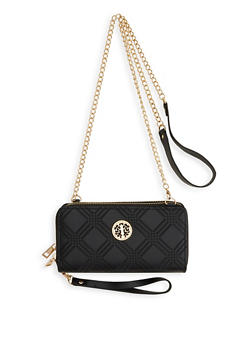 Double Zip Crossbody Wallet - 1126061593399