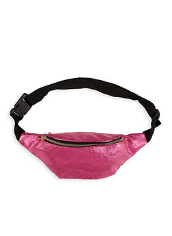 Textured Metallic Fanny Pack - 1126067440006