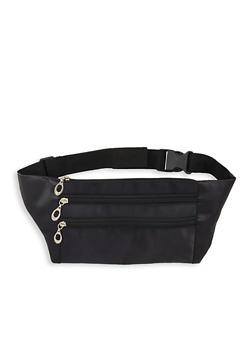Nylon Zipper Fanny Pack - 1126067440860