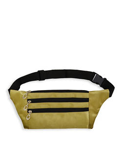 Nylon Zipper Fanny Pack - 1126067440860