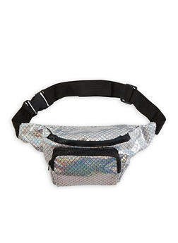 Mermaid Scale Print Fanny Pack - 1126067441027
