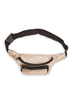 Textured Fanny Pack - 1126067441028